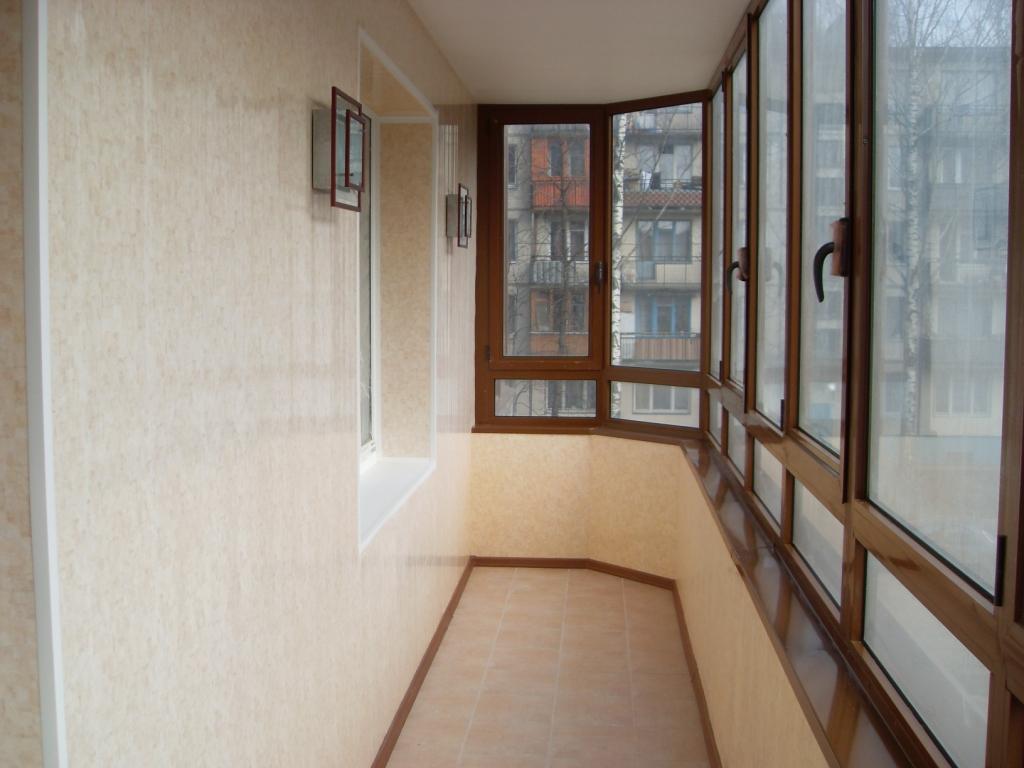 Отделка балкона плиткой фото 2